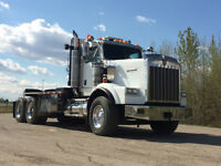 2007 Kenworth T800H T/A Winch Tractor