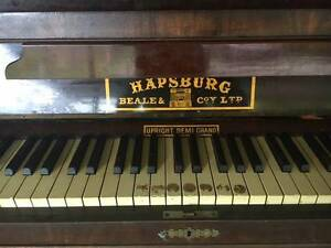 Upright Grand Piano  Hapsburg Beale & Co West Ryde Ryde Area Preview