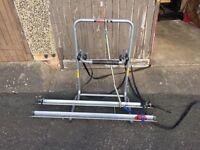 Avenir bike rack-spare wheel mounted