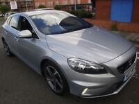 "13 VOLVO V40 1.6 D2 ( 115bhp ) Nav R-DESIGN """"TAX EXEMPT """"LEATEHER/CRUISE/"
