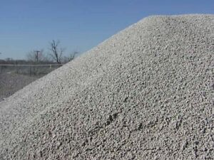 Crushed stone and Sand
