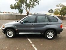 2003 BMW X5 E53 3.0D Grey 5 Speed Auto Steptronic Wagon Maidstone Maribyrnong Area Preview