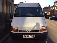 RENAULT MASTER 2.2ltr 2002 NEWLY CONVERTED