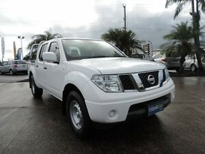 2012 Nissan Navara D40 S6 MY12 RX 4x2 White 5 Speed Automatic Utility Caboolture Caboolture Area Preview