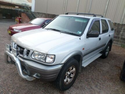 2001 Holden Frontera MX S (4x4) Silver 5 Speed Manual 4x4 Wagon Sylvania Sutherland Area Preview