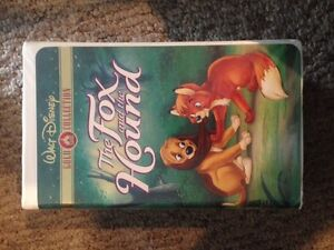 The Fox and the Hound Gold Collection VHS