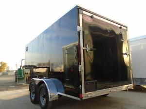 LOW PRICE, ALL ALUMINUM ENCLOSED W/ RAMP DOOR - 7X14 AMERALITE! London Ontario image 3