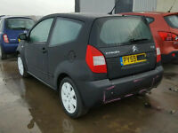 citroen c2 1.1L 09 reg. - damaged repaired