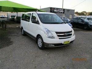 2015 Hyundai iMAX TQ MY13 White 5 Speed Automatic Wagon Heatherbrae Port Stephens Area Preview