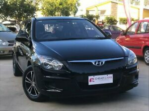 2011 Hyundai i30 FD MY11 SX Black 4 Speed Automatic Hatchback South Toowoomba Toowoomba City Preview