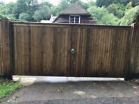 Softwood Closed Boarded Gates