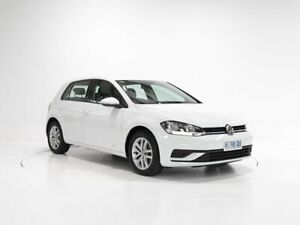 2018 Volkswagen Golf 7.5 MY18 110TSI DSG White 7 Speed Sports Automatic Dual Clutch Hatchback Cooee Burnie Area Preview