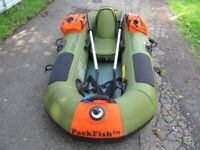 SeaEagle Packfish 7 inflatable fishing boat