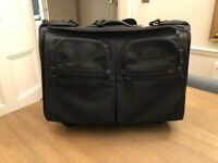 Tumi - Two wheeled Carry on Black Garment Bag 22 inch
