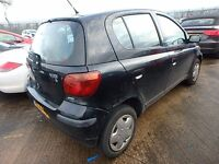 2003 TOYOTA YARIS 1.3 BREAKING FOR PARTS & SPARES, THIS ADD ONLY FOR DRIVER SIDE FRONT DOOR GLASS