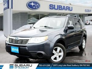 2010 Subaru Forester 2.5X - SELF CERTIFY -