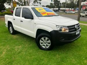 2014 Volkswagen Amarok 2H MY14 TDI420 4Motion Perm White 8 Speed Automatic Utility Ferntree Gully Knox Area Preview