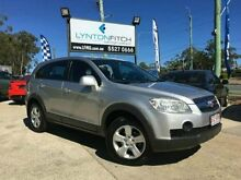 2008 Holden Captiva CG MY09 SX Silver 5 SPEED Semi Auto Wagon Southport Gold Coast City Preview