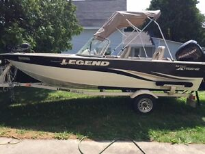 Legend 16 footer x-treme with 4 Stroke 60 HP