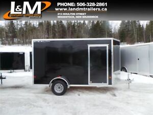 NEW 2018 STEALTH 6X12' ALUMINUM CARGO TRAILER- EXTRA HEIGHT