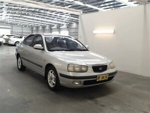 2000 Hyundai Elantra XD GLS Silver 4 Speed Automatic Sedan Beresfield Newcastle Area Preview