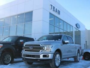 2018 Ford F-150 LIMITED, 900A, 4X4, LTHR, NAV, SYNC3, FORD PASS,