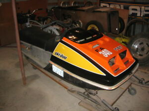 1975 skidoo 340 F/A partly restored