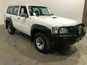 2016 Nissan Patrol Y61 GU 10 DX White Automatic Wagon Kooringal Wagga Wagga City Preview