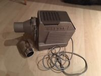 Vintage Hi-lyte projector and screen