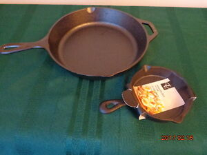 BRAND NEW Cast Iron Fry Pans
