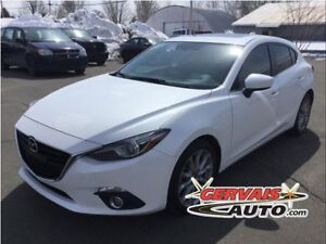 Mazda MAZDA3 GT-SKY Sport GPS Cuir Toit Ouvrant MAGS 2014