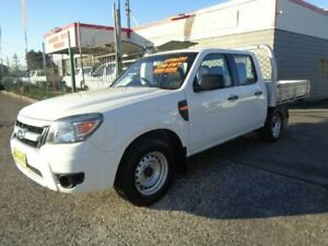 2011 Ford Ranger PK XL (4x2) White 5 Speed Automatic Dual Cab Chassis Sandgate Newcastle Area Preview