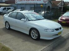 1999 Holden Commodore Vtii SS White 6 Speed Manual Sedan Holroyd Parramatta Area Preview