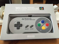 Super Nintendo controller for Wii (authentic) from club nintendo