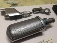 Excellent Rare Retro Looking Grampian Microphone In Amazing Condition - Only £125 Great Deal