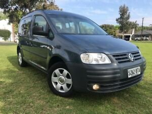 2008 Volkswagen Caddy 2K Wagon Life SWB DSG Blue 6 Speed Sports Automatic Dual Clutch Wagon Somerton Park Holdfast Bay Preview
