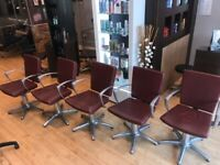 Hairdressing Hydraulic Styling Chairs