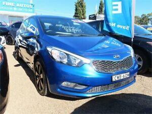 2014 Kia Cerato YD MY14 S Blue Manual Hatchback Minchinbury Blacktown Area Preview