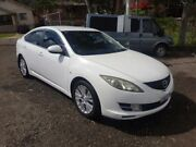 2008 Mazda 6 GH1051 Classic White 5 Speed Automatic Hatchback Lansdowne Bankstown Area Preview