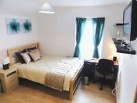 ▬ Incredible Stratford Bright Double Room fully furnished inc TV and FREE WiFi ▬