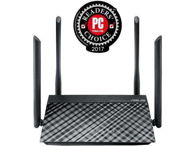 ASUS Dual-Band Wireless-AC1200 RT-AC1200 Router 4x External 5dBi Antennas