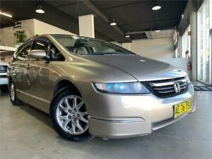 2005 Honda Odyssey 3rd Gen Luxury Dessert Sand 5 Speed Sports Automatic Wagon Caringbah Sutherland Area Preview