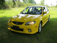 2003 Mazda Protege 5 with COLD A/C, safety certification + etest
