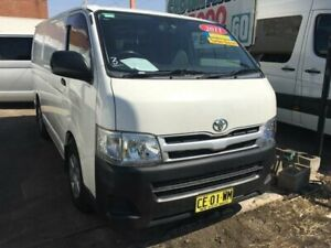 2011 Toyota HiAce KDH201R MY11 Upgrade LWB White 5 Speed Manual Van Granville Parramatta Area Preview