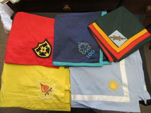 Boy Scout International Scarf Neckerchief Lot of 5     fx2  #3