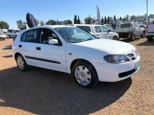 2003 Nissan Pulsar N16 S2 MY2003 ST White 4 Speed Automatic Hatchback Minchinbury Blacktown Area Preview