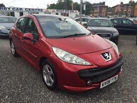 2008 PEUGEOT 207 1.4 16V SE LOW INSURANCE 12 MONTHS WARRANTY AVAILABLE