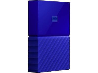 WD 4TB My Passport Portable Hard Drive USB 3.0 Model WDBYFT0040BBL-WESN Blue