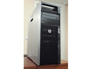 HP Z620 SFF Workstation Xeon Hex 6 cores E-5-2630 V2 (12 Virtual