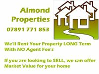 We'll Rent your Property LONG TERM or Buy @ Market Value